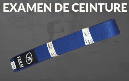 Examen ceinture Bleue